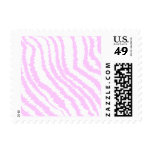 Pink Zebra Print, Animal Pattern. Stamp