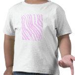 Pink Zebra Print, Animal Pattern. T Shirts