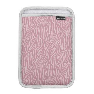 Pink Zebra Print iPad Mini Sleeve