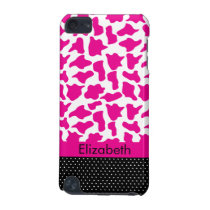 Pink Zebra Print IPod Touch Case