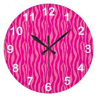Pink Zebra Print Pattern