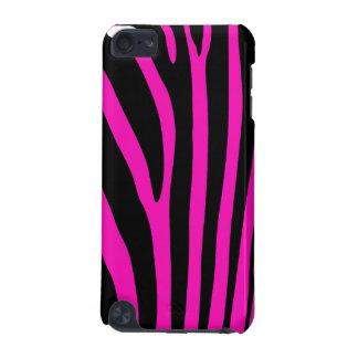 Pink Zebra Stripe iPod Touch 5G Case