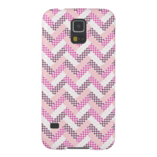 Pink Zig Zag Quilt Pattern Gifts for Her Galaxy Nexus Cases