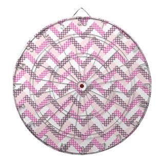 Pink Zig Zag Quilt Pattern Gifts for Her Dartboards