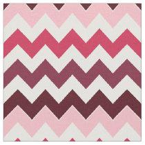 pink zigzag chevron pattern fabric
