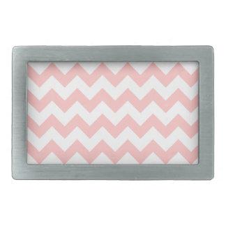 Pink Zigzag Stripes Chevron Pattern Girly Belt Buckle