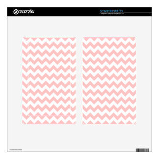 Pink Zigzag Stripes Chevron Pattern Girly Kindle Fire Decals
