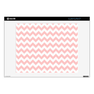 Pink Zigzag Stripes Chevron Pattern Girly Skin For Laptop
