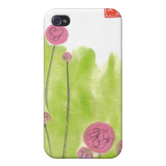 Pink Zinnia Flowers Speck Case iPhone 4/4S Covers