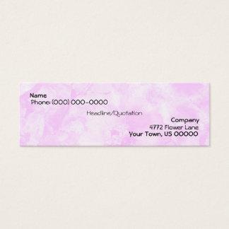 Pink Zinnia Harmony Business Card