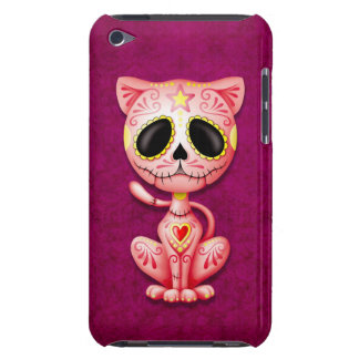 Pink Zombie Sugar Kitten Cat iPod Case-Mate Cases