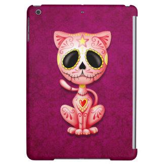 Pink Zombie Sugar Kitten Cat iPad Air Cover