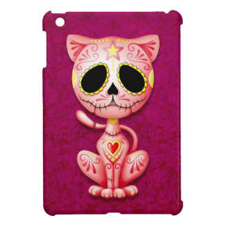 Pink Zombie Sugar Kitten Cover For The iPad Mini