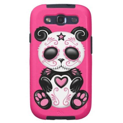 Pink Zombie Sugar Panda Samsung Galaxy SIII Covers