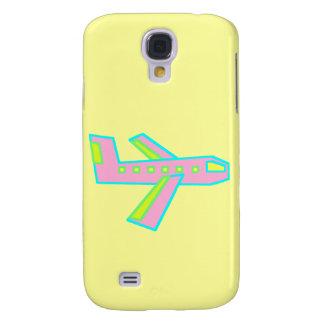 Pink Zooper Plane Samsung Galaxy S4 Case