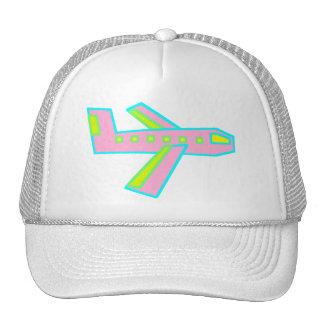 Pink Zooper Plane Trucker Hat