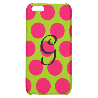 Pinkalicious Dots iPhone 5C Covers