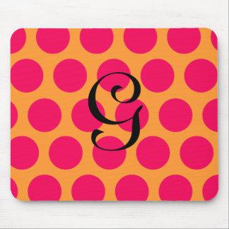 Pinkalicious Dots Mouse Pad