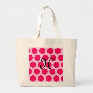 Pinkalicious Dots Tote Bags