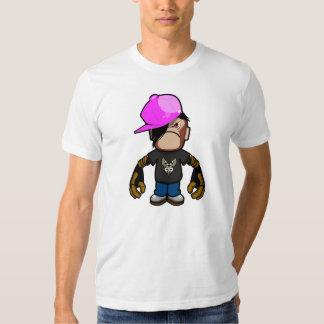 Pinkapple boy in monkey costume (robotic version) t shirt