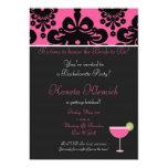 pinkblack copy, margarita, It's time to honor t... Custom Invite