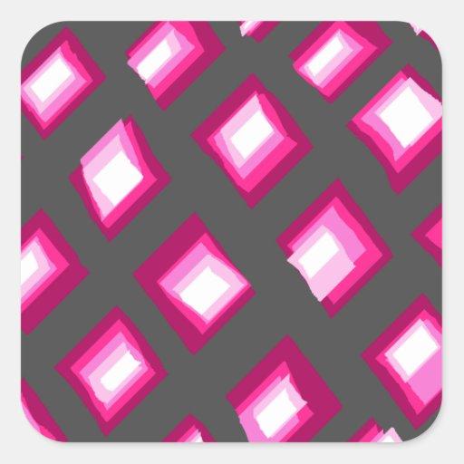 Pinkblox Calcomania Cuadradas