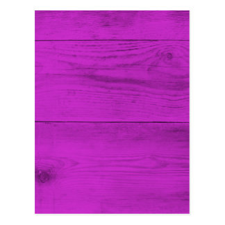Pinke Wood Structure Postcard