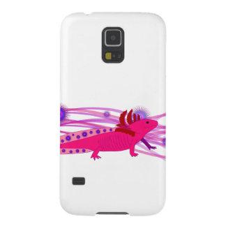 Pinker Axolotl Funda Galaxy S5