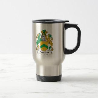 Pinkerton Family Crest Travel Mug