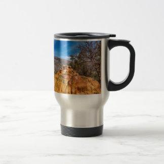 Pinkerton Hot Spring Formation Travel Mug