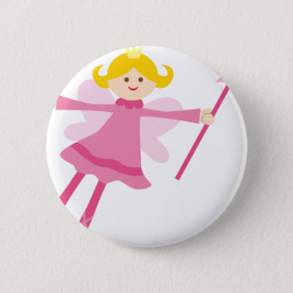 PinkFairies10 Pinback Button