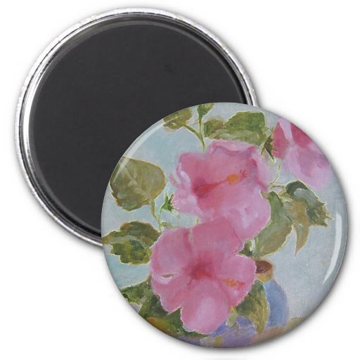 pinkflowers magnets