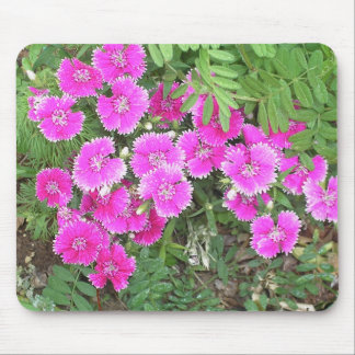 pinkflowers mouse pad