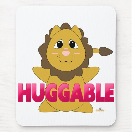 PinkHuggableHuggableLion Tapetes De Ratón