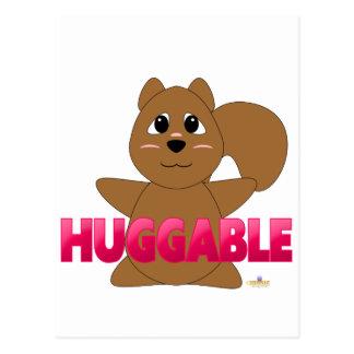 PinkHuggableHuggableSquirrel Postcard