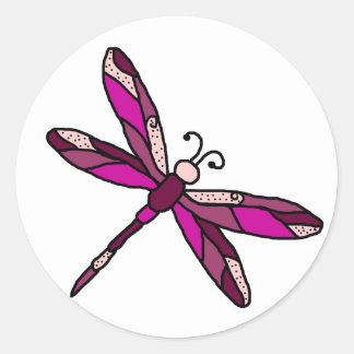 Pinkie Dragonfly stickers