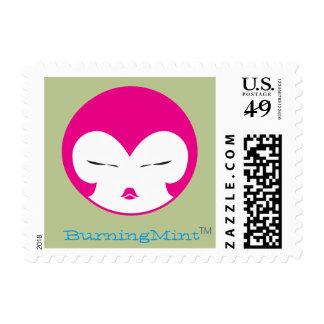 "Pinkie Head Small Postage, 1.8"" x 1.3"" Postage"