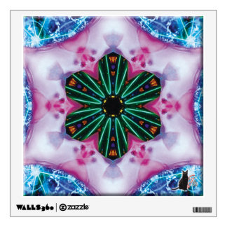 Pinkie Kaleidoscope Wall Decal