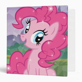 Pinkie Pie 3 Ring Binders