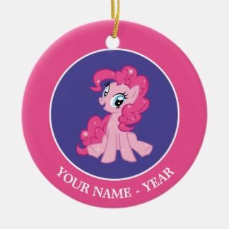 Pinkie Pie Ceramic Ornament