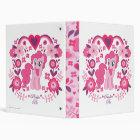 Pinkie Pie Floral Design Binder