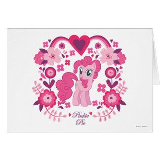 Pinkie Pie Floral Design Card