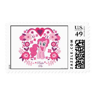 Pinkie Pie Floral Design Stamp