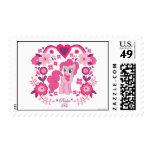 Pinkie Pie Floral Design Postage Stamp