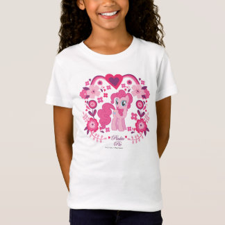 Pinkie Pie Floral Design T-Shirt