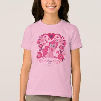 Pinkie Pie Floral Design T-Shirt