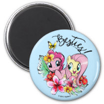 Pinkie Pie & Fluttershy | Besties Magnet