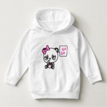 Pinkie Pinky Panda Girls Hoodie