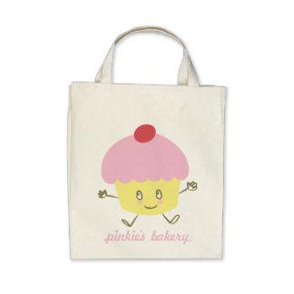 Pinkie s Bakery Cupcake Canvas Bag