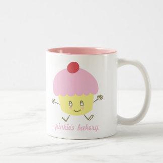 Pinkie s Bakery Cupcake Mug